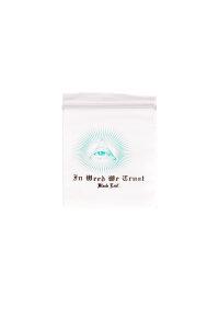 Baggy 40 x 60 mm 50µ 100 Stück In Weed We Trust
