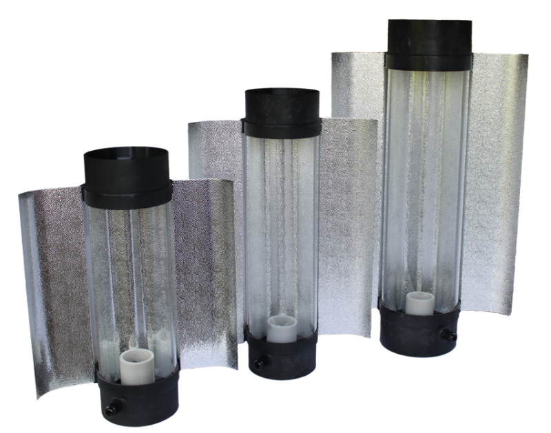 Cool Tube 125 mm Länge 425 mm, Außenreflektor