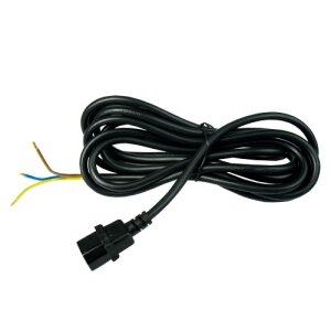 Kabel IEC männlich ø 1,5 mm, 4 Meter