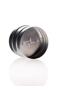 Rückschlagklappe 125 mm Metall