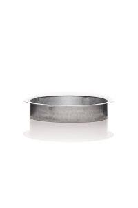 Bundkragen / Anschlussflansch 125 mm Metall