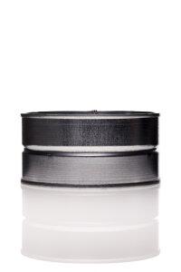 Muffe 200 mm Metall