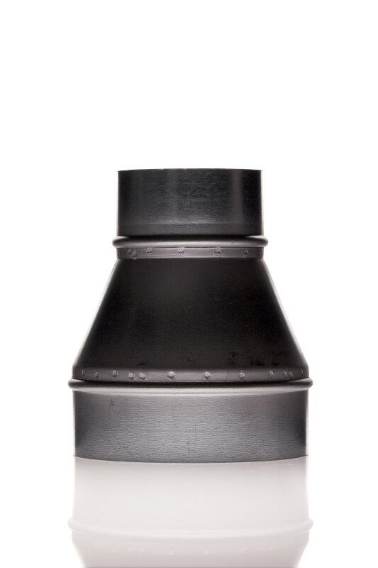Reduzierung 125 mm - 100 mm Metall