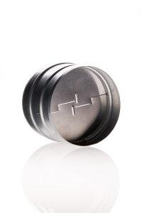 Rückschlagklappe 100 mm Metall