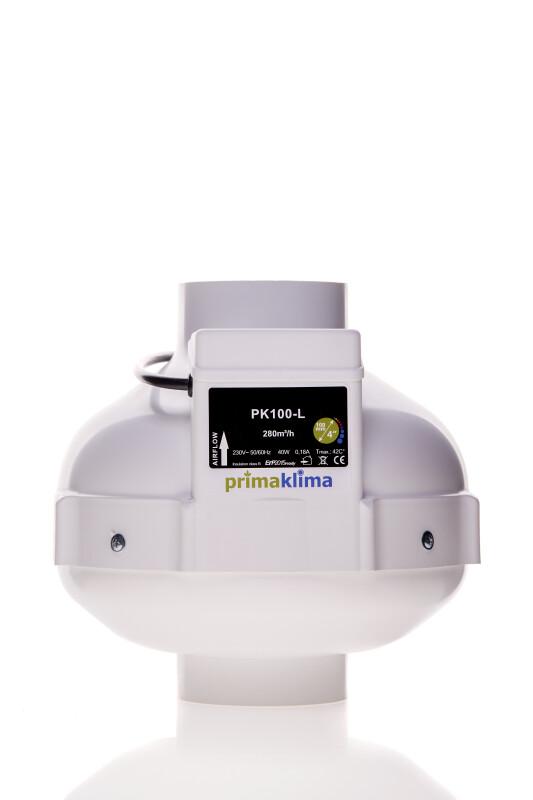 RVK 100 mm Prima Klima 280 m³/h