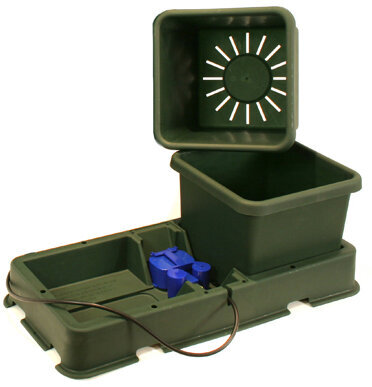 AutoPot easy2grow 2 Pot 8,5l Erweiterungs-Set schwarz