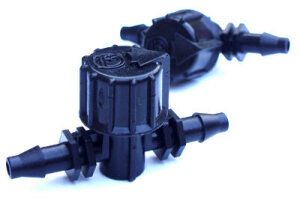AutoPot 6 mm Sperrhahn Inline