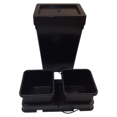 AutoPot easy2grow 2 Kit 2 x 15l Töpfe schwarz, inkl. 47l Tank