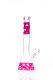 Black Leaf Silly Skin 5mm Pink Kolbenbong mit Silikonhaut