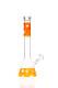 Black Leaf Silly Skin 5mm Orange Kolbenbong mit Silikonhaut