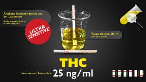 CleanU THC Drogentest Sensitiv 25ng/ml