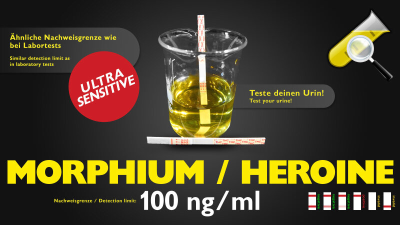 CleanU MOR Morphium Sensitiv 100ng/ml