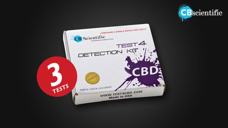 Test4 Detection-Kit CBD (3x)