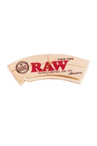 Raw Cone Filter Tips Maestro perforiert 32 Blatt
