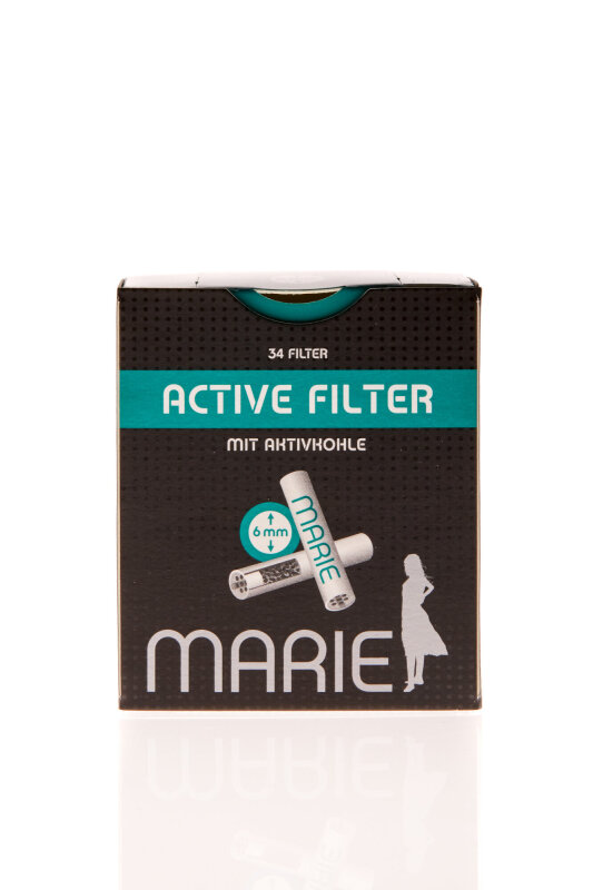 Marie Aktivkohlefilter 34 Stück Ø 6 mm