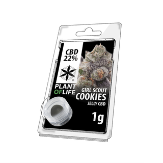 CBD Jelly Girl Scout Cookies 22% 1 g Plant of Life