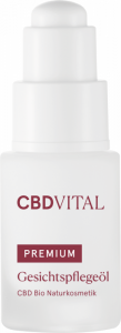 CBD VITAL PREMIUM CBD Bio Kosmetik Gesichtspflegeöl...