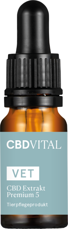CBD VITAL VET 5% CBD Extrakt Premium 10ml