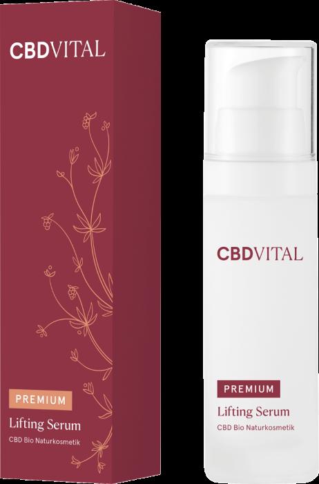 CBD VITAL PREMIUM CBD Bio Kosmetik Lifting Serum 30ml