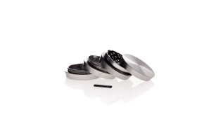 Alumühle Stufen Black Leaf 4-teilig Ø 55 mm grau