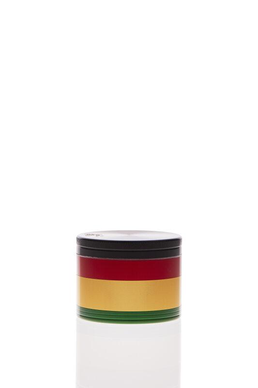 Alumühle Black Leaf 4-teilig Rasta Ø 49 mm