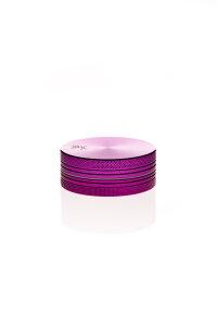 Alumühle Black Leaf 2-teilig Ø 50 mm violett