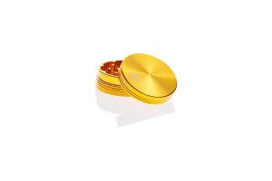 Alumühle Black Leaf 2-teilig Ø 50 mm gold
