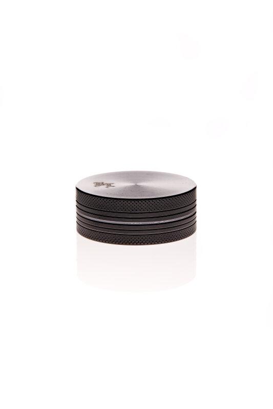Alumühle Black Leaf 2-teilig Ø 50 mm schwarz