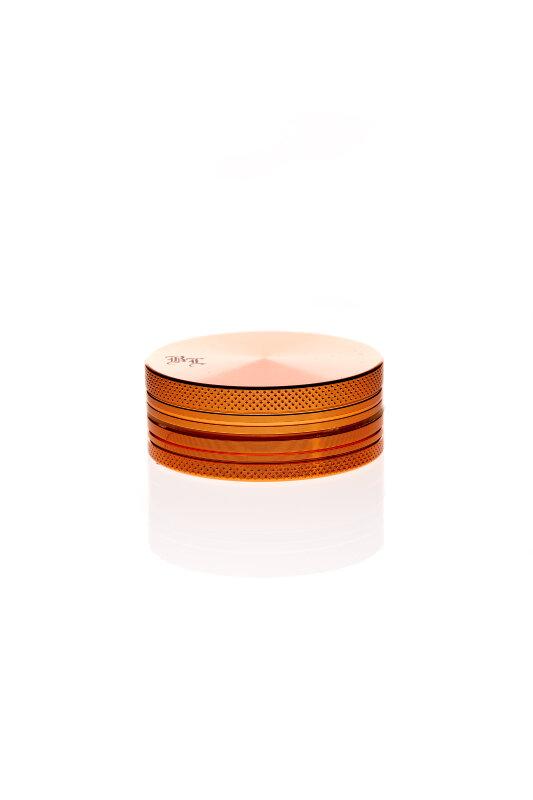 Alumühle Black Leaf 2-teilig Ø 50 mm orange