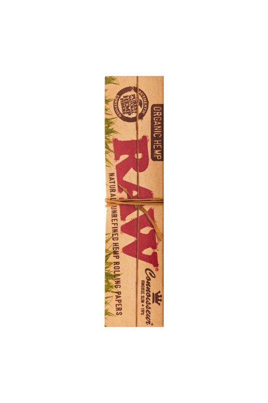RAW King Size Slim Organic Hemp