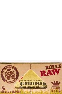 RAW Rolls Organic Hemp 5 m