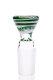 Plaisir Flutschkopf Farbspirale grün-weiß 18,8