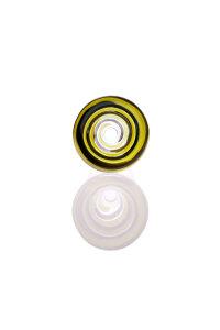 Plaisir Flutschkopf Farbspirale schwarz-gelb 18,8