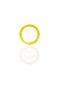 Plaisir Flutschkopf groß Farbrand gelb 14,5