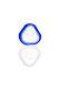 Plaisir Flutschkopf dreieckig blau 18,8