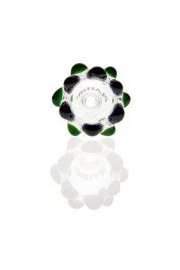 Plaisir Flutschkopf Doppelkrone grün-schwarz 14,5