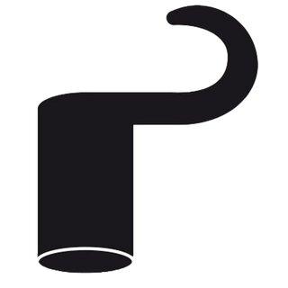 Homebox Plastikhaken lang Ø 22 mm 4 Stück