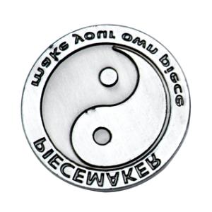 Piecemaker Prägestempel Motiv Ying Yang