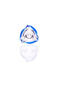 Zenit Flutschkopf Dreieck blau 18,8