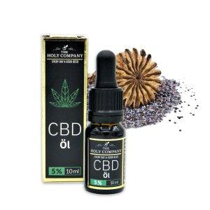 The Holy Company CBD Öl Mohn 5% CBD 10ml