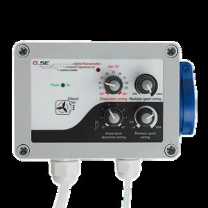 GSE FANCONTROLLER Temperatur, min.-max Speed, Unterdruck,...
